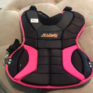Other - Youth girl sport softball chest protector pink